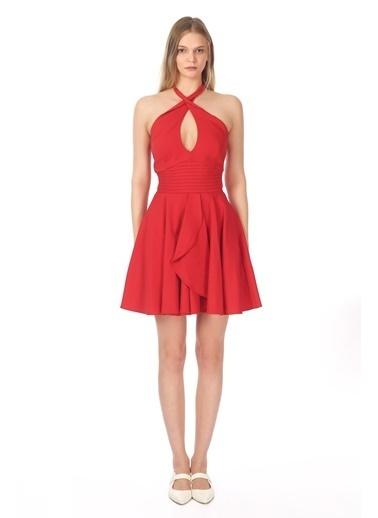 Tuba Ergin Elbise Kırmızı